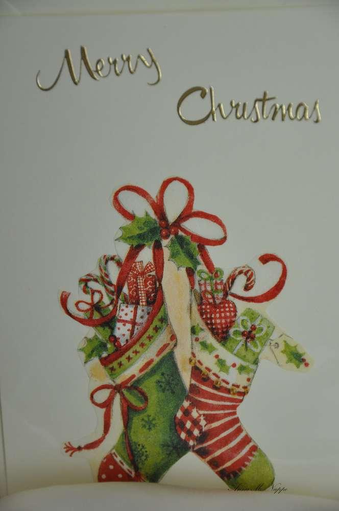 Gebastelte Weihnachtskarten.Weihnachtsgrüsse 1