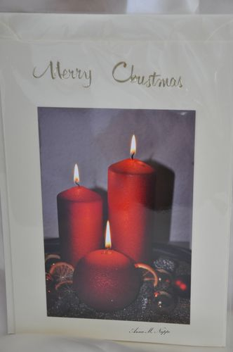 Merry Christmas Candels