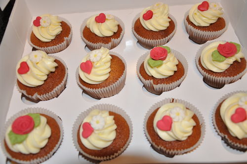 Mini Orangen Schoko Grand Marnier Cupcakes 12 Mini